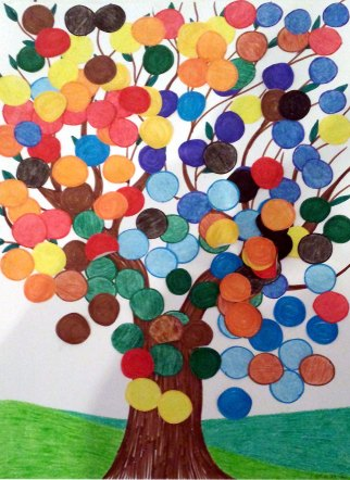 Project Colorful Tree